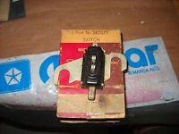 NOS MOPAR 1942-49 HAND BRAKE SIGNAL SWITCH PLYMOUTH-DESOTO-DODGE-CHRYSLER