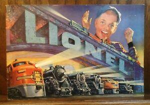 Vintage Lionel 1952 Catalog