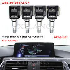 4x 36106872774 Genuine RDC TPMS For BMW G30 G31 G38 F90 G32 G11 G12 G01 G02 G05