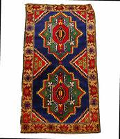 Genuine, Original Pure Wool Rug Rustic Handmad Carpet CM 150x80