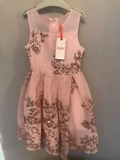 TED BAKER Girls  Dress Special Occasion / Wedding Dress She 8 Years RPR £75 BNWT