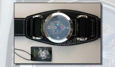 Ed Hardy Jugend-Armbanduhr mit Tiger-Kopf; schwarz + Metall-Box TO-TG 1661 NEU