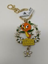 Orange Bird Hello Sunshine 2021 Epcot Flower And Garden Festival Keychain Disney
