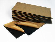 Black Acrylic Sheets - 3mm Thickness - 8.7x19cm - Poly Plastic Plexiglas Perspex