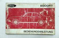 Ford Escort Bedienungsanleitung Betriebsanleitung Wartung 1972