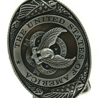 THE UNITED SATTION OF AMERICA Eagle Cowboy Western Belt Buckle Men's Gift