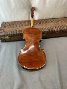 Antique E. Martin Violin Sachsen 4/4 Stradivarius Copy