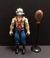 G.I. Joe ARAH Vintage 1987 Cobra Bug Boa Figure Near Complete w/ Mouth Piece