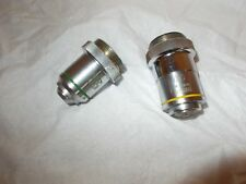 2 Graf Aps  Microscope Ob. 40 f 4.3 mm x N.A. 0.65 and 10 f 16 N.A.0.25 SALE!!!!