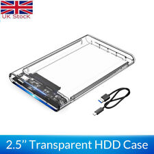 ORICO HDD Clear Case USB 3.1 Type C to 2.5 SATA Hard Disk SSD External Enclosure