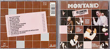 CD 12 TITRES YVES MONTAND EN CONCERT OLYMPIA 81 MADE IN FRANCE