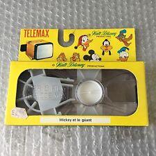 Vintage#FILM PROIETTORE TELEMAX WALT DISNEY MICKEY ET LE GEANT