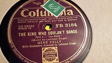 GENE KELLY THE KING WHO COULDN'T DANCE  COLUMBIA FB3184