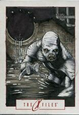 IDW Limited The X Files 2014 Annual And Sketch Card By Richard Cox
