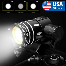 USB Rechargeable Bicycle Light Set Bike Front LED Zoomable Headlamp lamp  T6