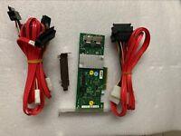 Fujitsu 9211-8i D2607 SAS/SATA RAID controller+2*SFF-8087 to SFF-8482