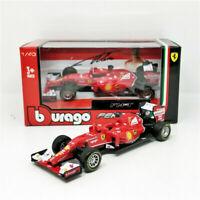 BBURAGO 1:43 2014 FERRARI FORMULA 1 F1 F14T #14 Fernando Alonso Model CAR Boxed