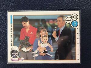 RARE 1990 Kingpins PBA Bowling #87  PARKER BOHN III  Pack Fresh  NM/MT+