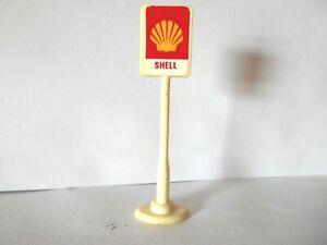 vintage Bartons Motoplay Toys SHELL petrol sign