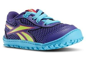 REEBOK V59226 VENTURE FLEX Inf's (M) Purple/Blue Mesh/Synthetic Casual Shoes