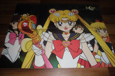 altes 2seitiges POSTER:  SAILOR MOON -- Maße ca: 57 x 43 cm