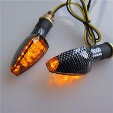 Kawasaki Aprilia Motorrad Quad Roller LED Blinker Turn Light Carbon Look