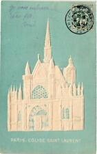 CPA PARIS (5e) Eglise sAint-Laurent (564240)