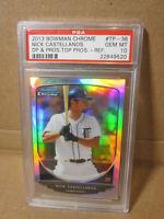 2013 Bowman Chrome Nick Castellanos Refractor PSA 10 Gem Mint Tigers Rookie MLB