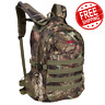 Hunting Backpack Mossy Oak Camo Hydration Compatible Roomy Side Straps Daypack