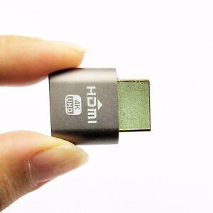 VGA Virtual Display Adapter HDMI DDC EDID Dummy Plug Headless Ghost 1920x1080