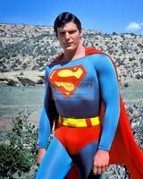 "CHRISTOPHER REEVE AS ""SUPERMAN"" - 8X10 PUBLICITY PHOTO (AB898)"