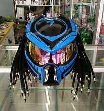 Custom Predator Motorcycle Helmet