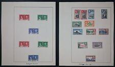 Ceylon KGVI 1938--49 MM Part Set of 12 Inc Shade On + 1937 Coronation MM & U