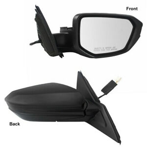 New Passenger Side Power Mirror W/ Expanded View 16-18 Honda Civic HO1321283