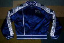 AUTHENTIC Vintage-Style VANCOUVER CANUCKS Satin THROWBACK Jacket Youth/Boys L