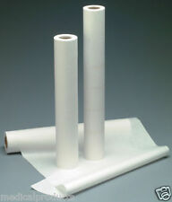 """NEW Exam Table Paper 21"""" x 225' Smooth, White 12 Rolls"""