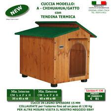 Cuccia per cane Chihuahua in legno cucce Canile cani casetta cane taglia grande