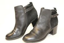 Sperry Top-Sider Ambrose Womens 8.5 M Black Leather Ankle Boots kzs