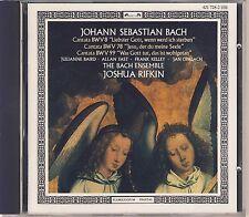 J.S. Bach - Baird, Rifkin, Bach Ensemble: Cantatas BWV 8, 78, 99 Like New