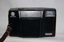 Minolta Talker 35mm Film Point and Shoot Camera Auto Focus