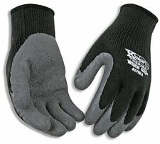 Kinco 1790 Xl Warm Grip Latex Coated Gloves X Large Gray