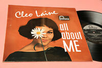 Cleo Laine LP All About Me Orig UK 1962 NM Lamianted Cover