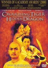 Crouching Tiger, Hidden Dragon (Dvd, 2001) - Good