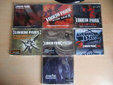 JOB LOT: Linkin Park x7 CD singles pack inc. Crawling, In The End, Faint