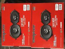 "2 PAIRS MTX TN573 Terminator Series 5""x7"" 110 Watts 3-way car speakers NEW"