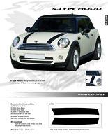 For: MINI COOPER Graphics Kit EE1723 Decals Trim Emblems S-TYPE HOOD 2004-2013