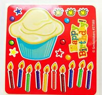 15 Cupcake Make Your Own Stickers Party Favors Birthday Teacher Supply