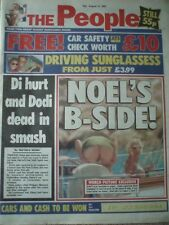 Princess Diana Newspaper - Aug 31 1997 Early Editions