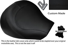 BLACK STITCH  CUSTOM FITS SUZUKI INTRUDER VL 1500 98-04 FRONT SEAT COVER