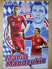 POSTER MARIO MANDZUKIC FC Bayern München 2013 42 x 28,5 cm